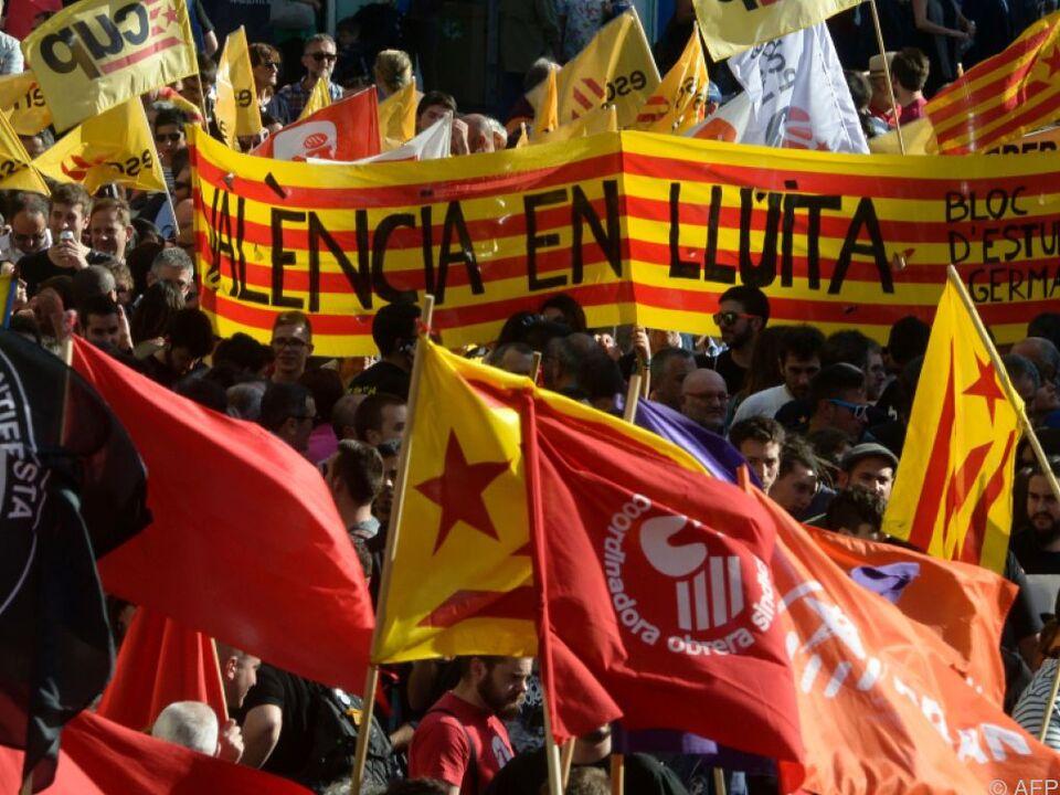 Spanien legte gegen Kataloniens Unabhängigkeitsbestrebungen Veto ein