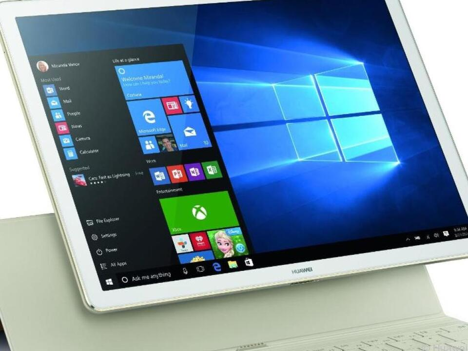 Tablet oder Notebook: Beim Huawei Matebook haben Nutzer die Wahl