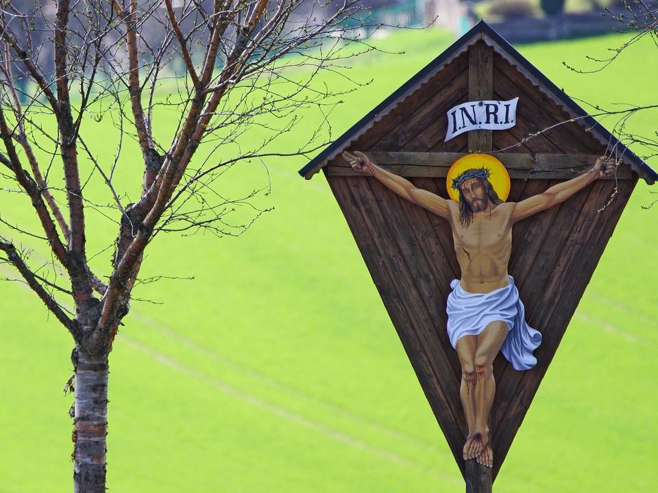 Wegkreuze in Hoehnhart kreuz kruzifix