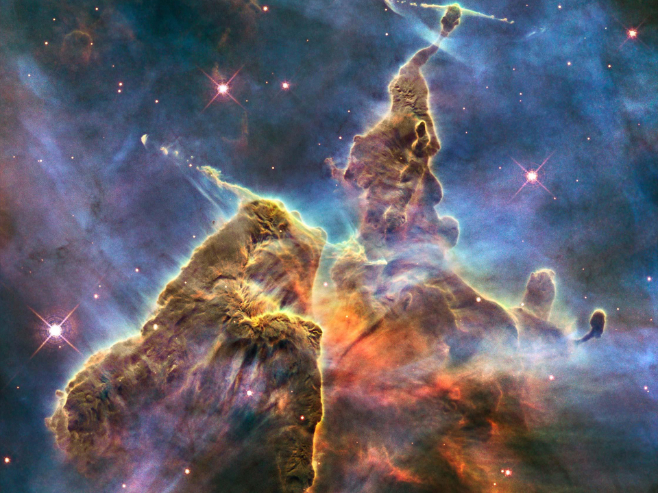 weltraum all Image released to celebrate Nasa\'s Hubble Space Telescope 20th birthday - 23 Apr 2010 =