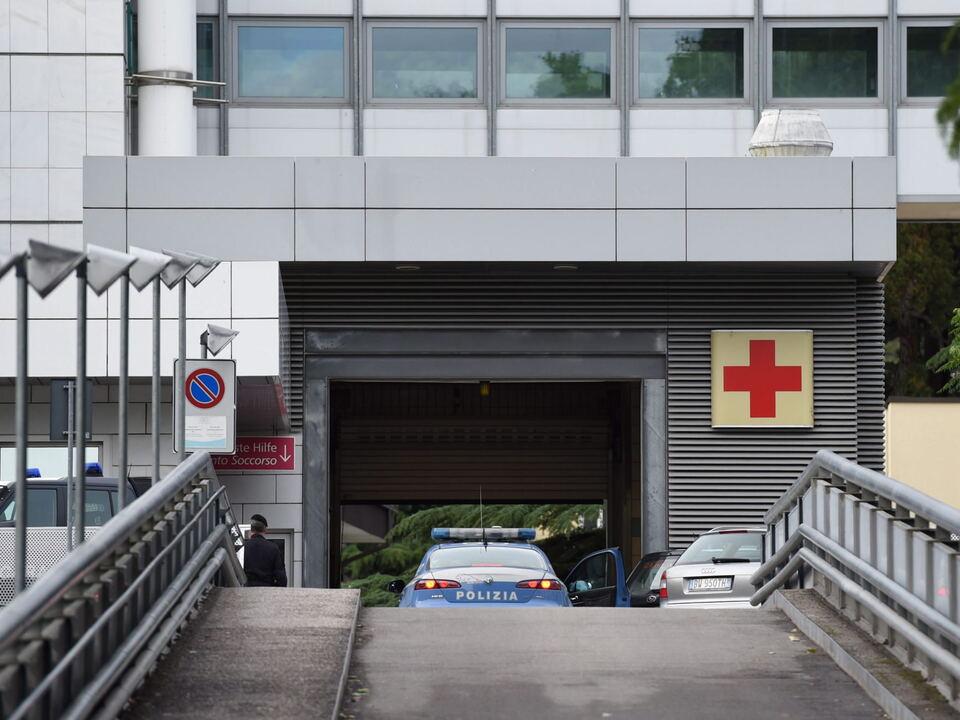 meran krankenhaus rettung erste Hilfe