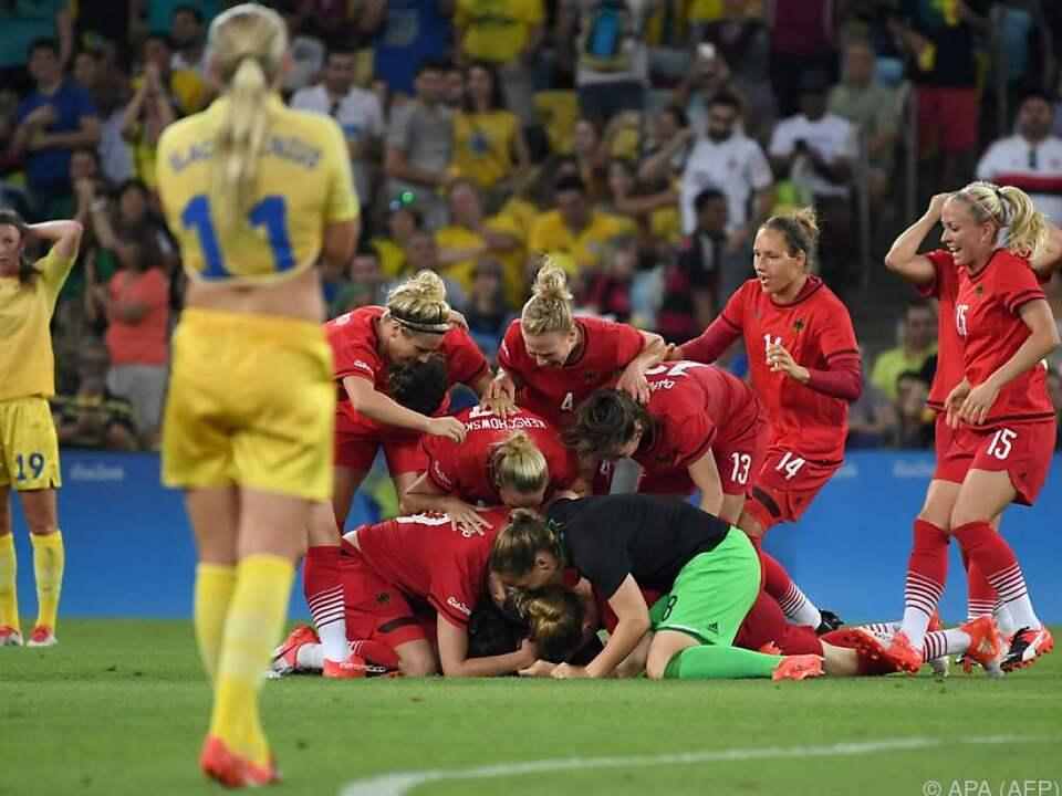 2:1-Sieg der Deutschen im Finale gegen Schweden