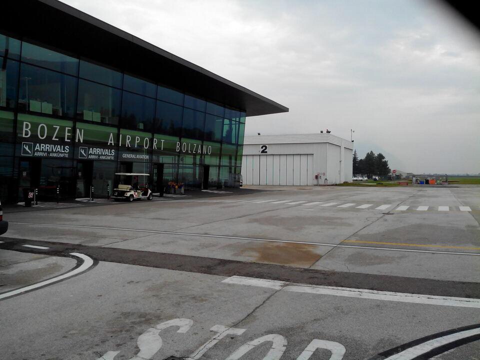 ABD Flughafen Airport Bozen