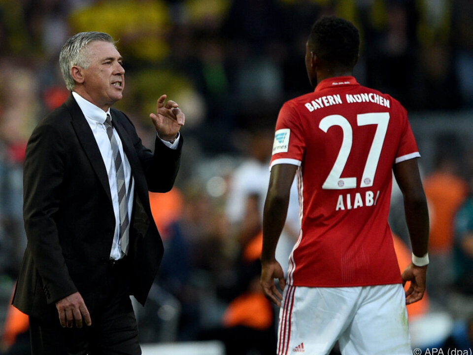Alaba hat erst unlängst in München verlängert