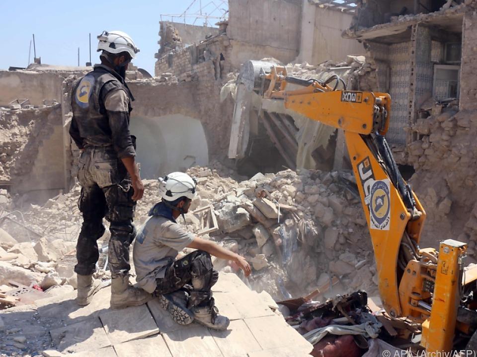 Aleppo braucht dringend Waffenpause