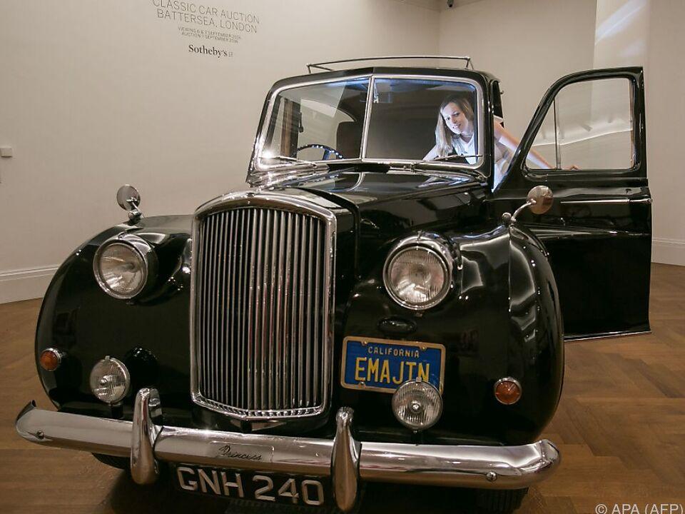 Am 7. September soll das historische Auto einen Käufer finden