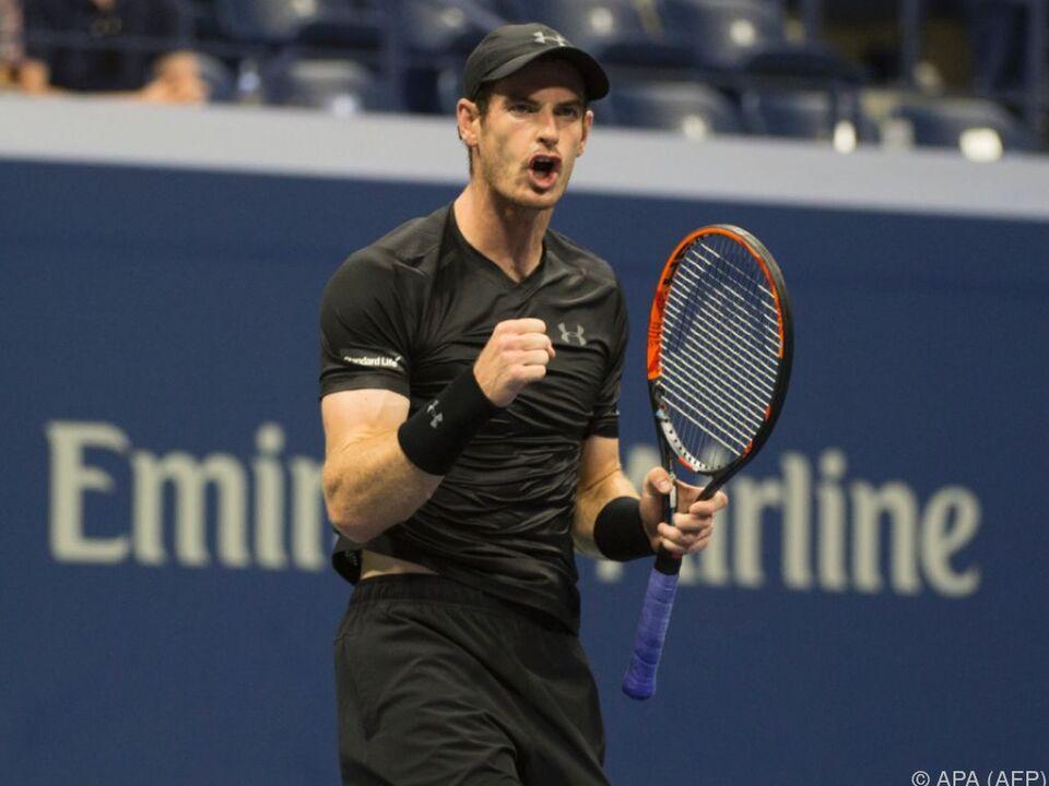Andy Murray ist vom neuen Dach höchst angetan
