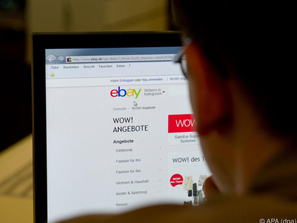 Angehörige des Anbieters sind bei Ebay von der Auktion ausgeschlossen