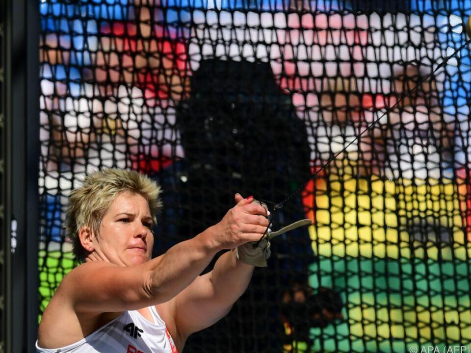 Anita Wlodarczyk pulverisierte ihren eigenen Rekord