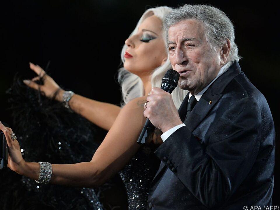 Auch Lady Gaga ist ein großer Fan von Tony Bennett