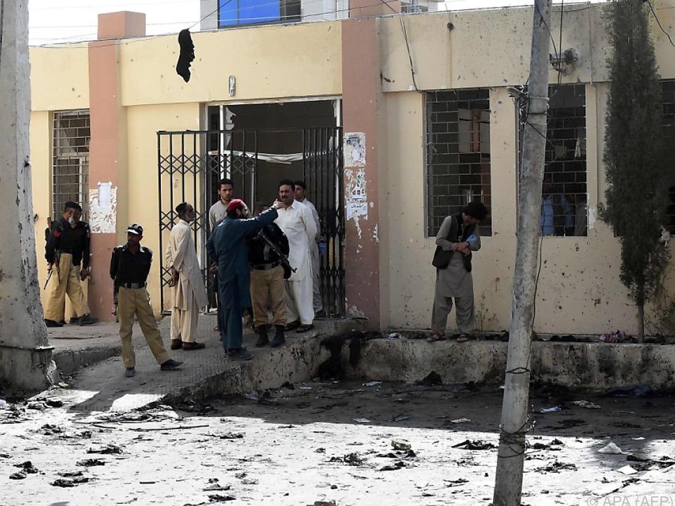 Bei dem Anschlag am Montag starben über 70 Menschen