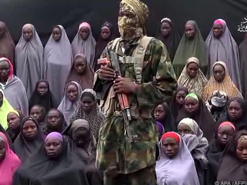 Bei den Mädchen soll es sich um jene aus Chibok handeln