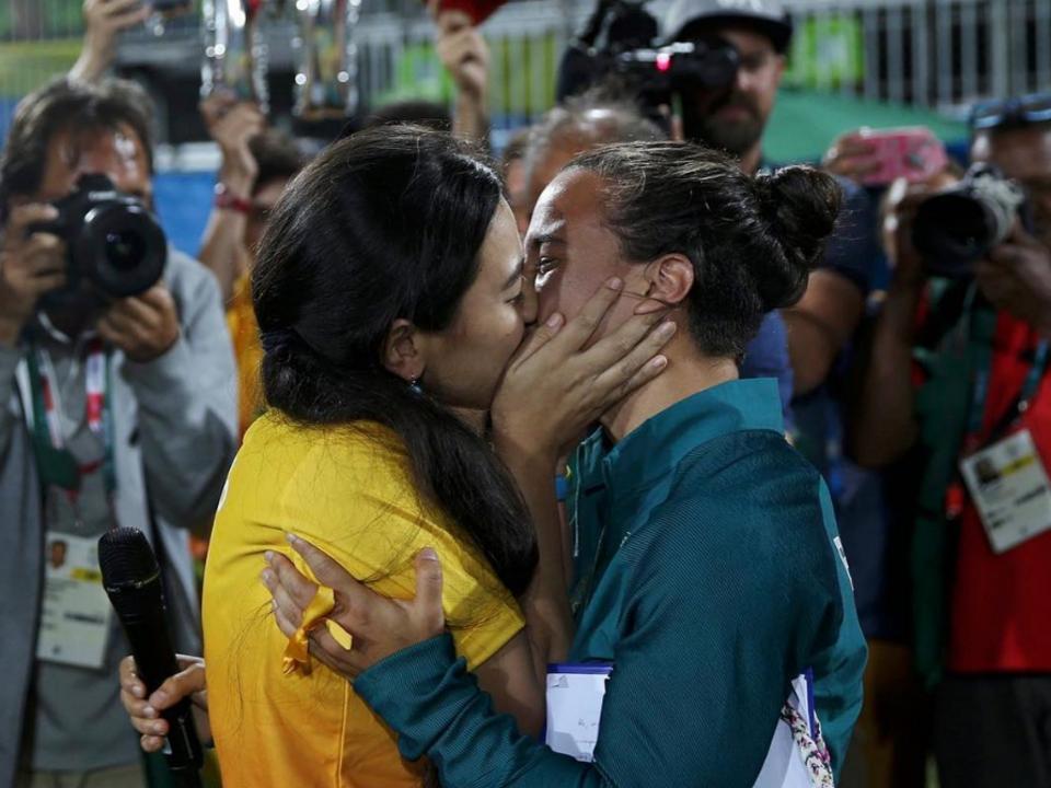 heiratsantrag olympia