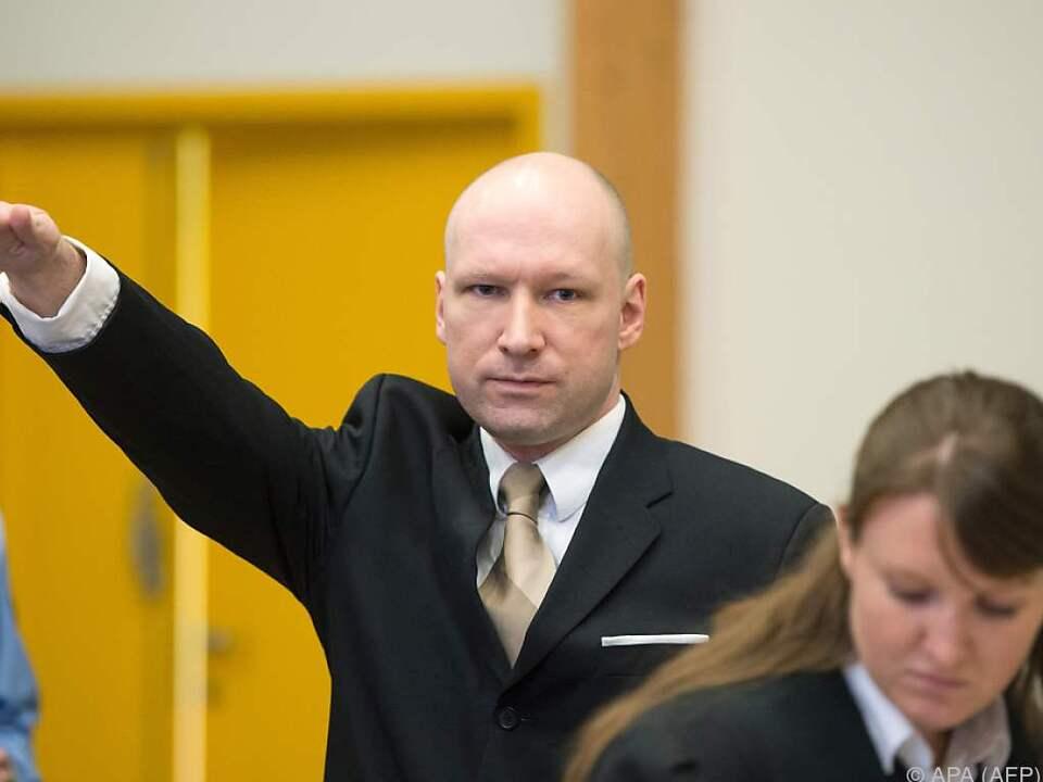 Breiviks Berufung wird im Nobember verhandelt