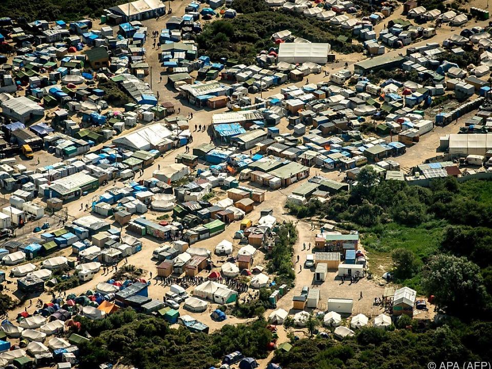 Calais ist einer der Brennpunkte der europäischen Flüchtlingskrise