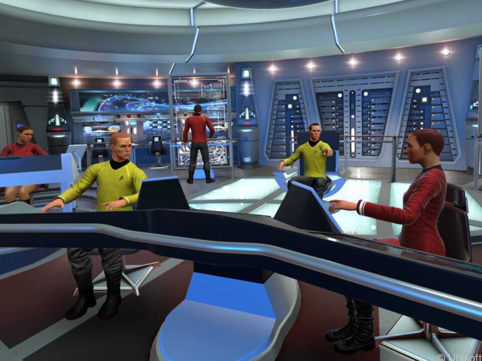 Captain und Crew müssen im VR-Spiel eng zusammenarbeiten
