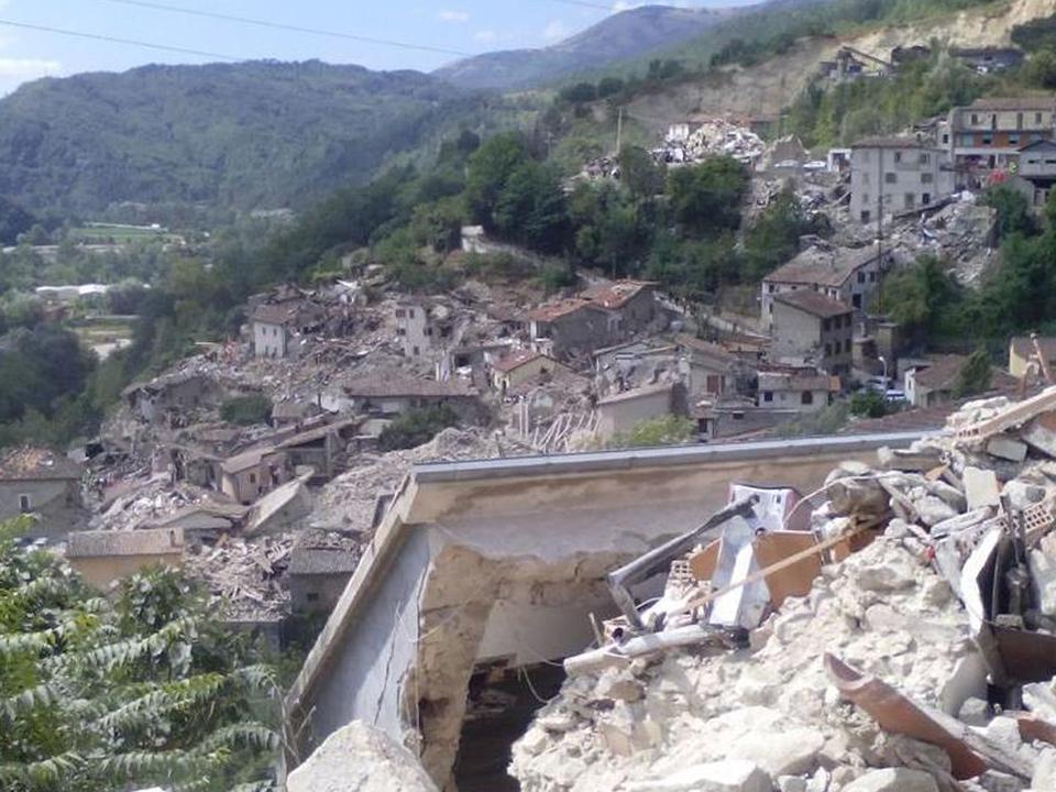 Erdbeben Italien Mittelitalien