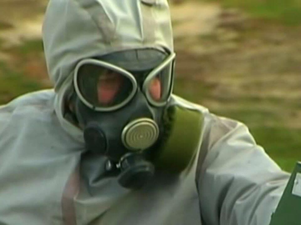 chemie unfall gasmaske Milzbrand in Sibirien ausgebrochen