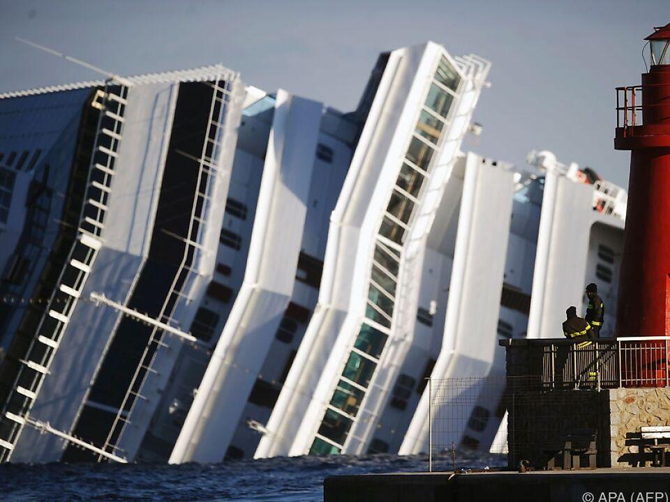 Costa Concordia soll endgültig zerlegt werden