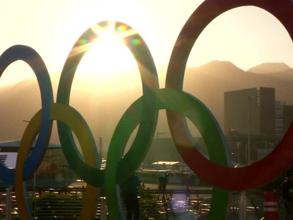 Countdown für Rio olympia