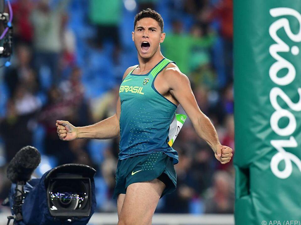 Da Silva sorgte für erstes Leichtathletik-Gold des Veranstalterlandes