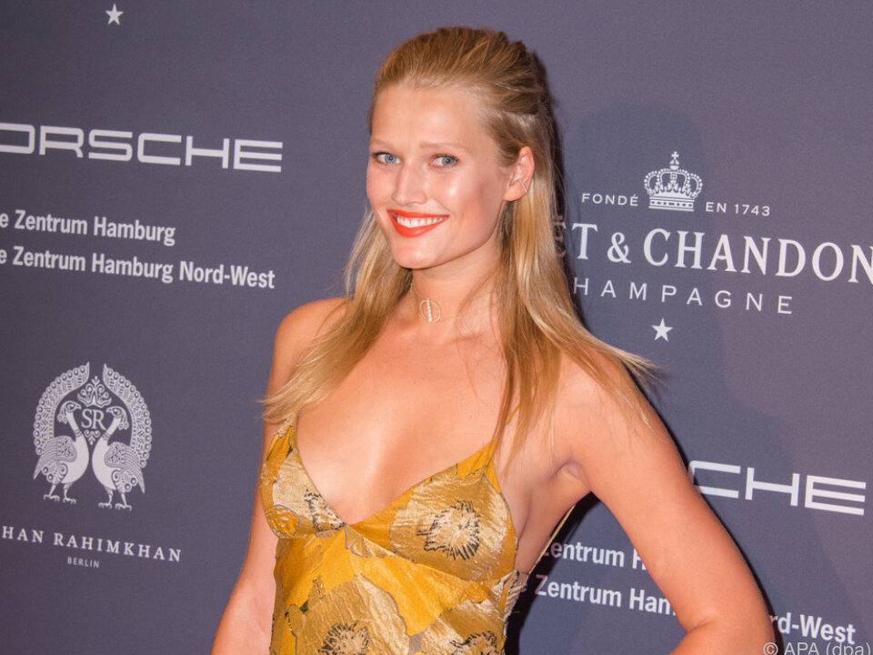 Das deutsche Topmodel setzt sich für die gute Sache ein