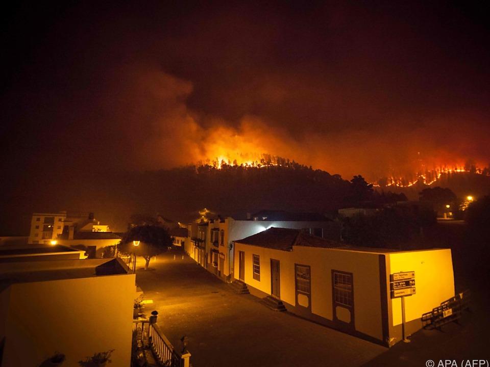 Das Feuer war bereits am Mittwoch ausgebrochen