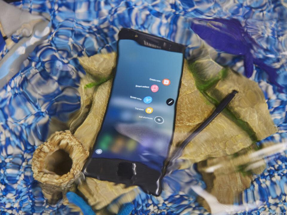 Das Galaxy Note 7 ist bedingt wasserdicht