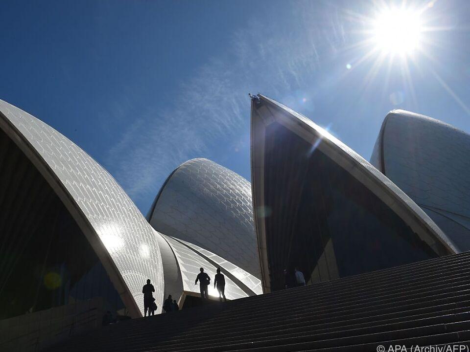 Das Opernhaus in Sydney wurde 1973 eröffnet