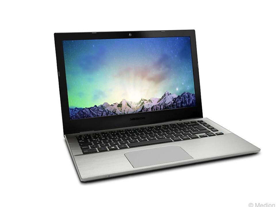 Das Ultrabook bietet 512 GB SSD-Speicher und 8 GB Arbeitsspeicher