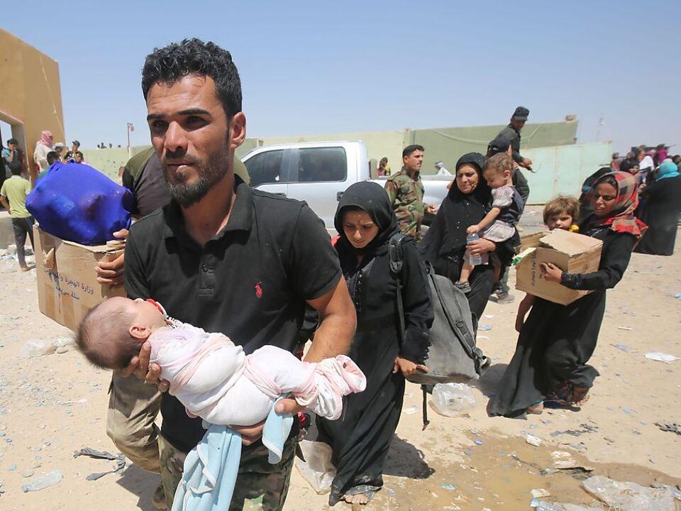 Das UNHCR warnt vor einer weiteren Flüchtlingswelle