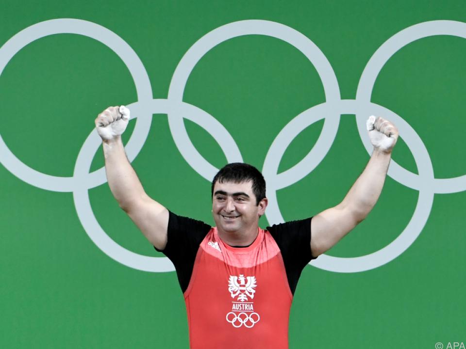 Der 29-Jährige schaffte seine neue persönliche Bestleistung von 389 kg