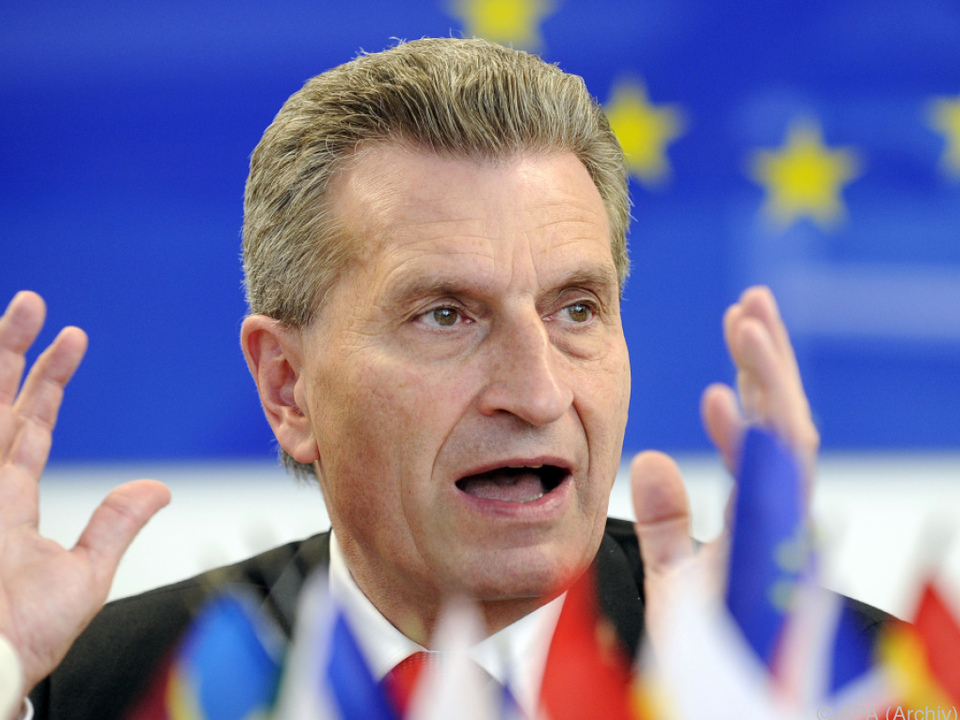 Der EU-Kommissar ist skeptisch