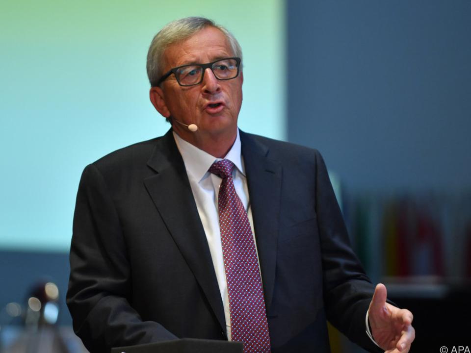 Der EU-Kommissionspräsident gibt sich weiter zuversichtlich