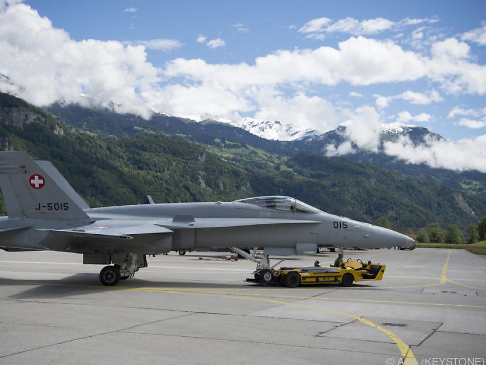 Der Kampfjet vom Typ F/A-18 wurde seit Montag vermisst