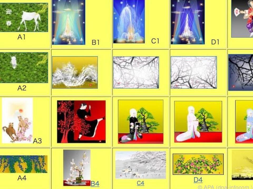 Der Künstler Tasuo Horiuchi gestaltet seine Bilder mit Excel