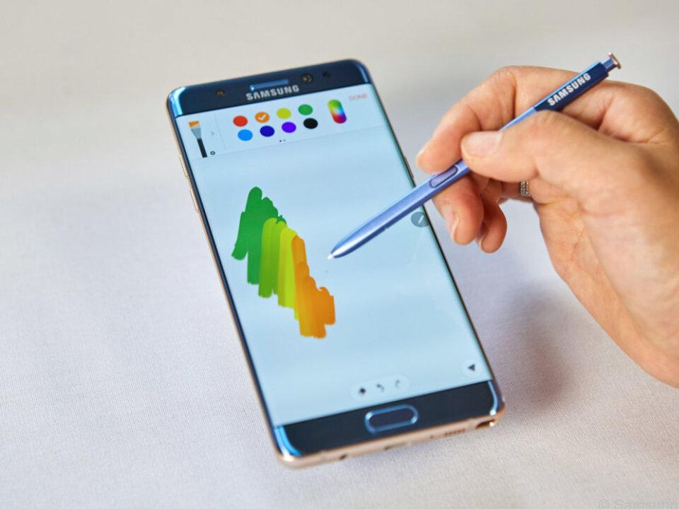 Der Stylus S-Pen wurde überarbeitet und soll nun präziser sein