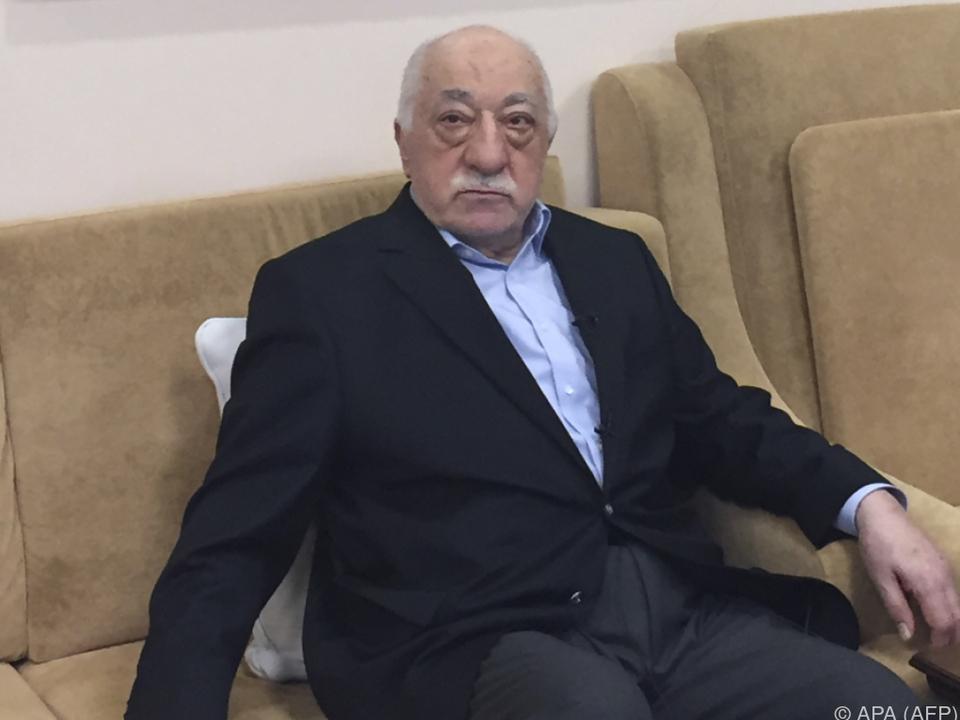 Der türkische Prediger lebt in den USA