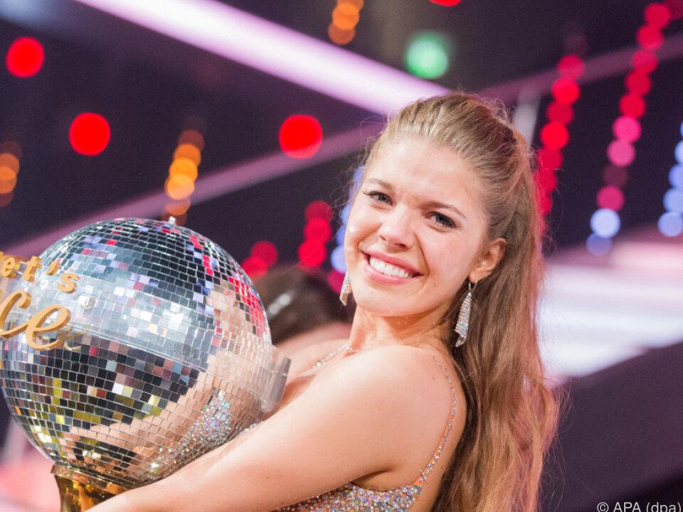 Die 22-Jährige gewann die Tanzshow \