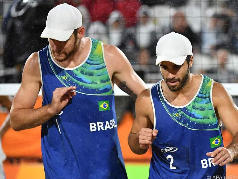 Die Brasilianer verloren in Rio nur gegen die Österreicher Doppler/Horst