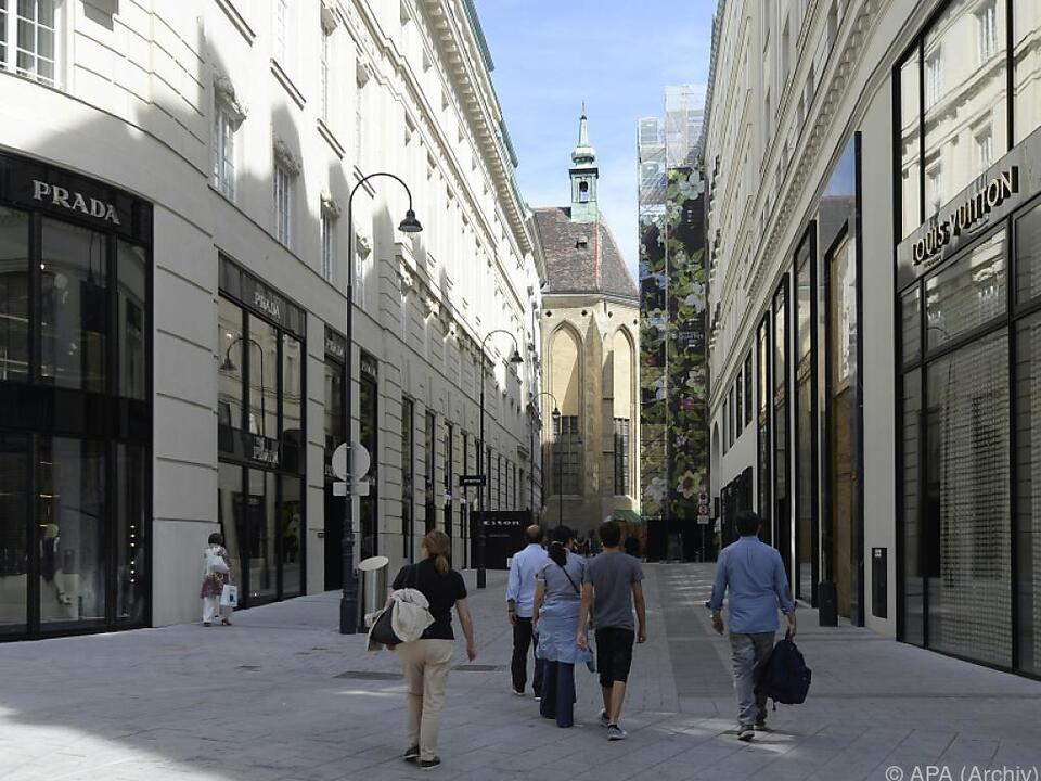 Die dreiteilige Mode-Sause findet im Goldenen Quartier statt