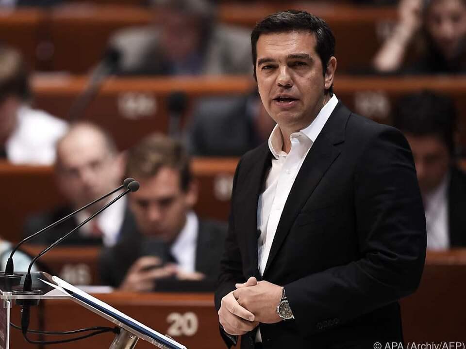 Die EU schlafwandele am Abgrund, warnte Tsipras