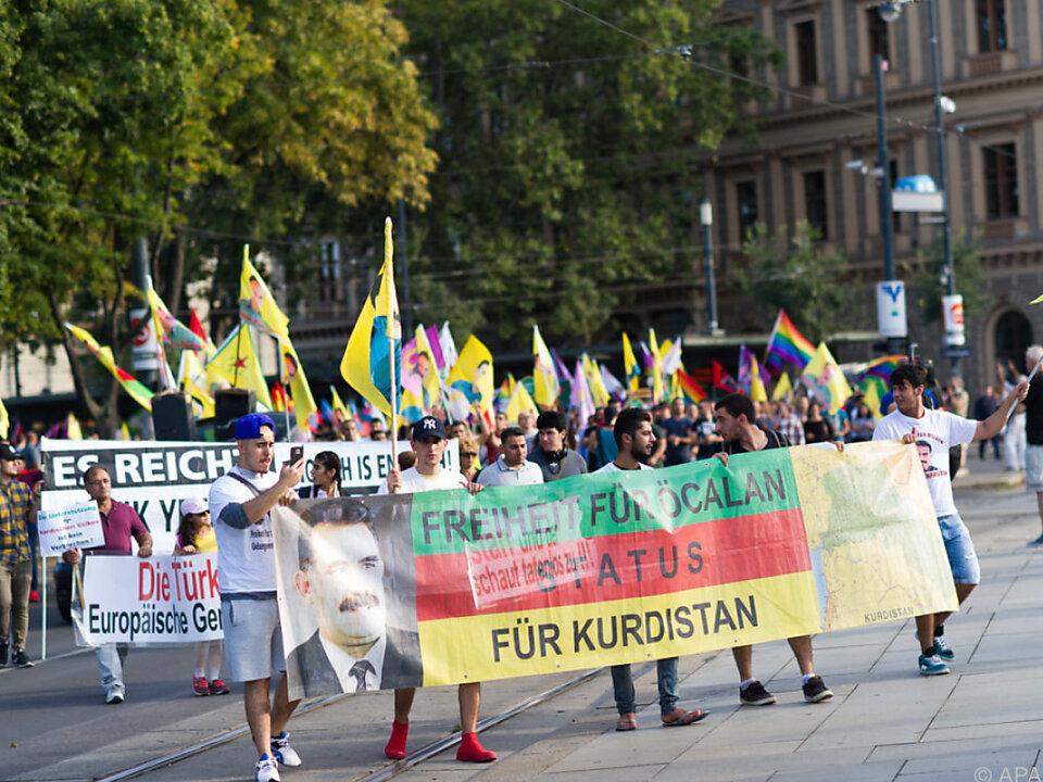 Die Kurdendemo gefiel Ankara überhaupt nicht