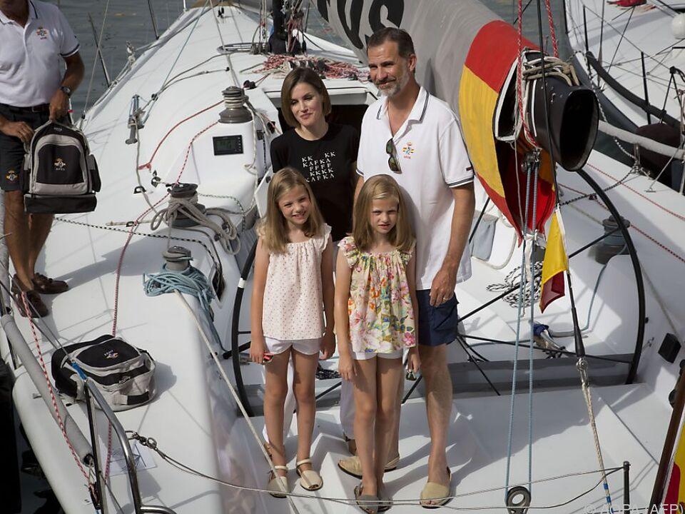 Die Royals verbringen den Urlaub wie jedes Jahr auf Mallorca