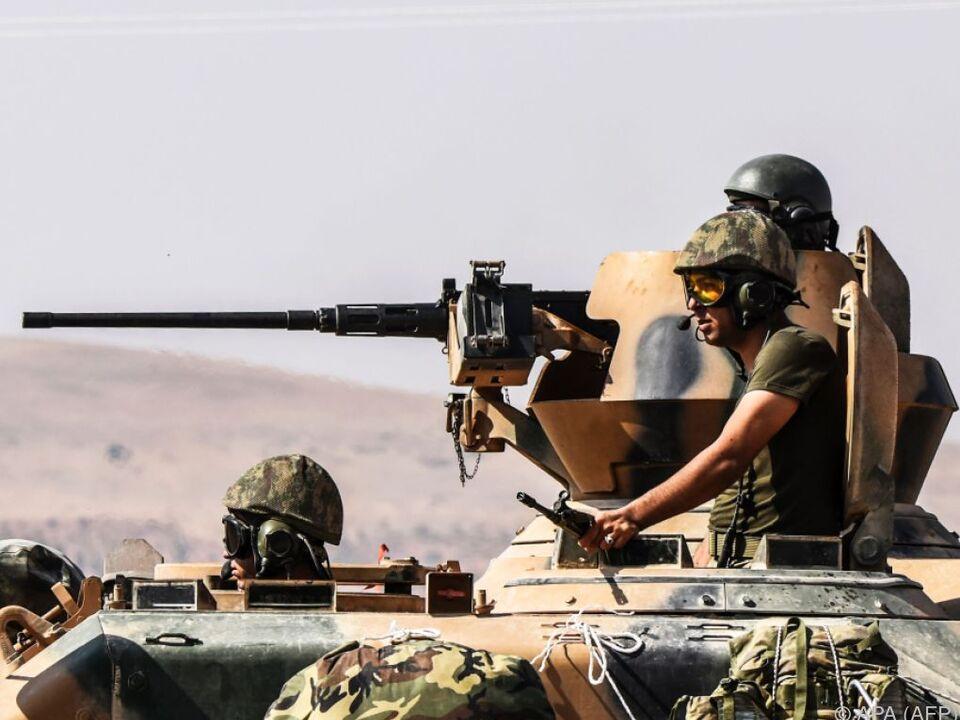 Die Türkei drang diese Woche mit Verbündeten nach Nordsyrien vor