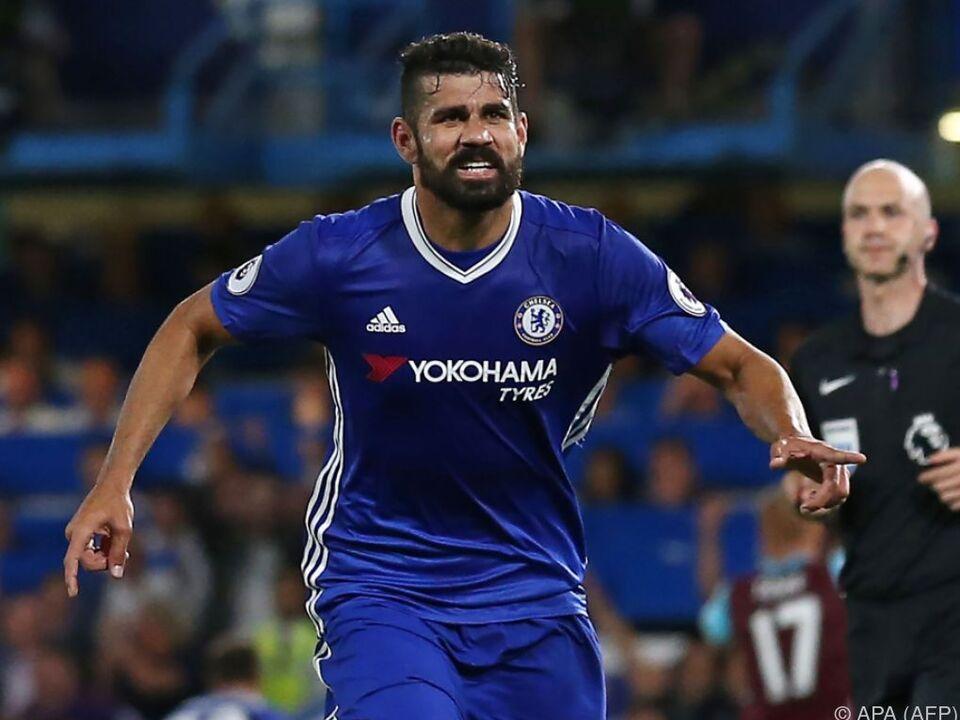 Diego Costa fixierte den späten Sieg
