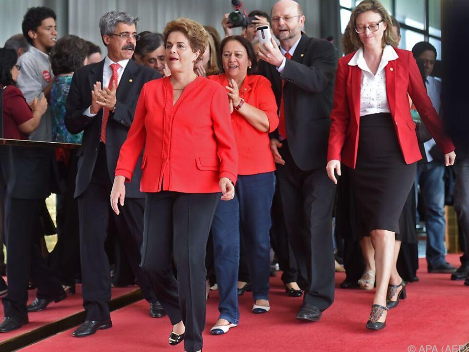 Dilma Rousseff musste abtreten