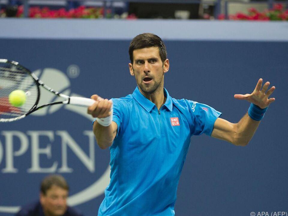 Djokovic profitierte von einer Verletzung seines Gegners