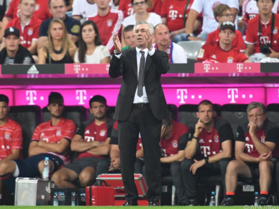 Dominanz der Bayern setzt sich unter Ancelotti scheinbar fort