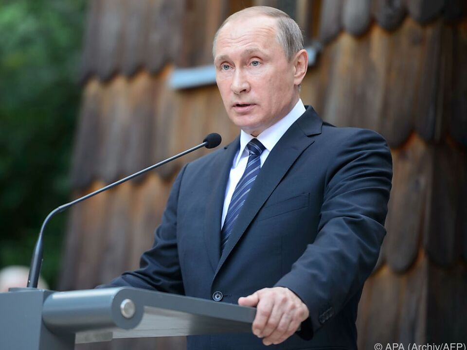 Drohung gegen Putin